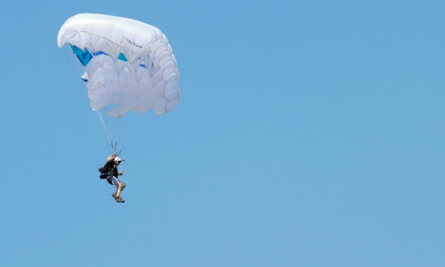 All About the Parachute: From Opening to Landing
