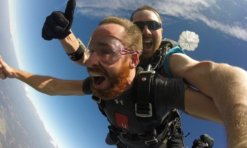Nervous About Skydiving?