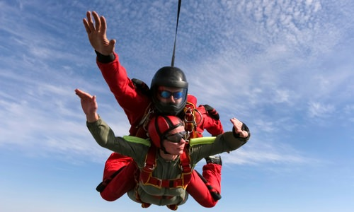 Skydiving Experience Made Better with Friends