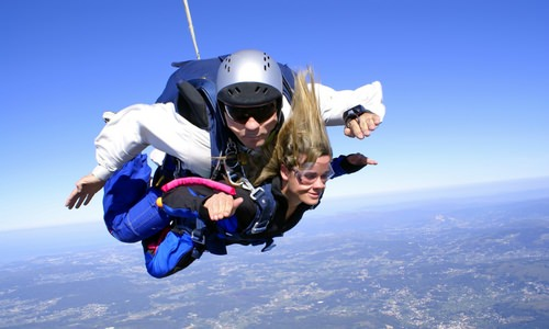 Skydiving with Glasses or Contacts: What to Know