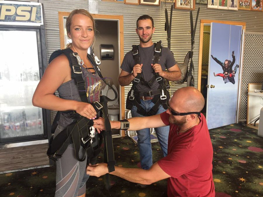 The Art of Keeping Your Calm Before Your Skydive