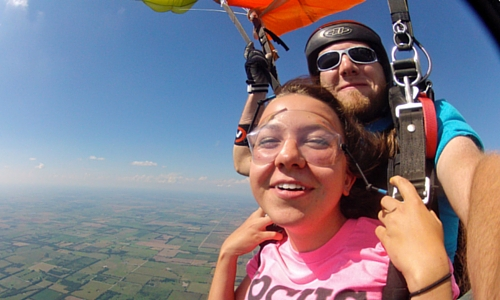 What Skydiving Says About You (And Why You Might Want it On Your Résumé)