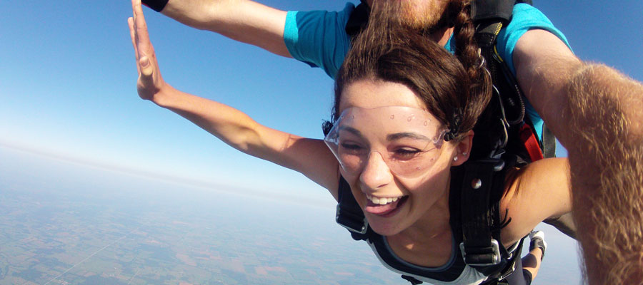 Missouri Skydiving Gift Certificates